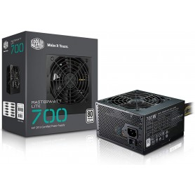 COOLER MASTER 700W MWE BK80+WHITE 1-FAN 120MM PFC-A