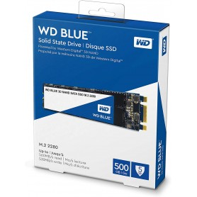 WD SSD 500Gb M.2 Blue