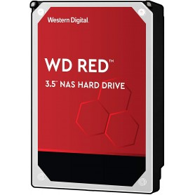 Wd Hdd Sata III 4000Gb 3.5 64Mb RED (WD40EFRX)