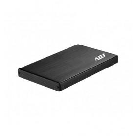 """ADJ Box per HDD Sata 2.5"""" Usb 3.0 Black"""