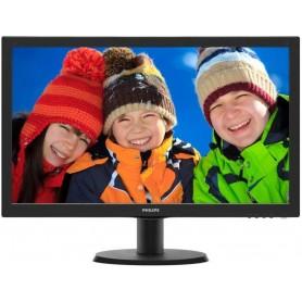 "Philips Monitor 24"" 243V5QHSBA/00 1820 x 1080 HD VGA DVI HDMI"