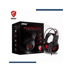 MSI CUFFIA GAMING 3,5MM DS502 7.1 NEWRED LED