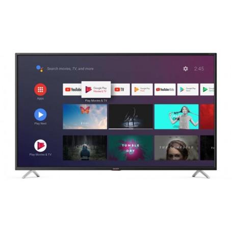 SHARP LC-55BL5EA SMART TV - Display 55 pollici 4K Ultra HD 3HDMI Android 9 - audio harman kardon - Black ITALIA