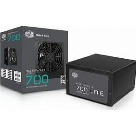 Cooler Master MASTERWATT LITE 700W/230V/80 PLUS WHITE/120MM FAN/ ACTIVE PFC/ EU CABLE