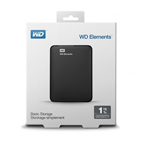 Wd Hdd Usb3.0 1000Gb 2.5 Elements Portable