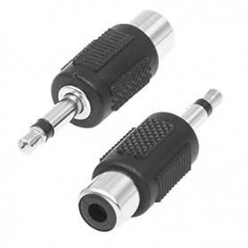 Adattatore Audio Mono RCA a Jack 3.5mm F/M